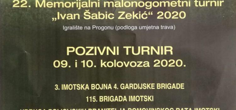 """22. MNT """"Ivan Šabić – Zekić"""""""