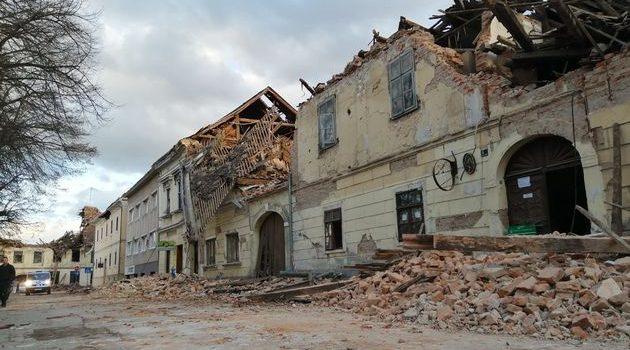 Financijska pomoć za potresom pogođena područja
